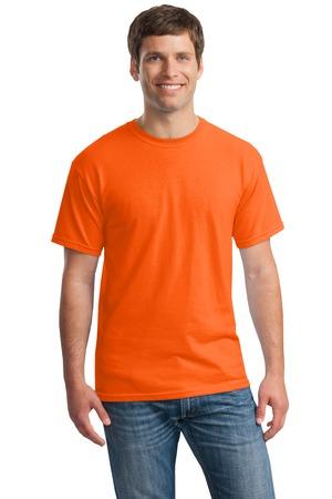 áo thun trơn màu cam
