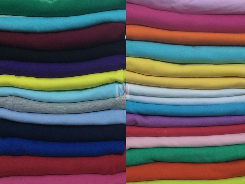 màu vãi thun cotton