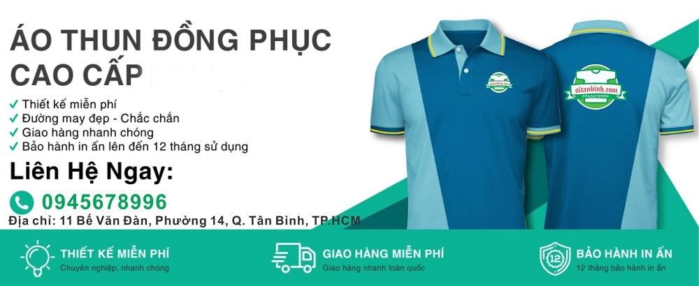 Xưởng áo thun đồng phục TPHCM