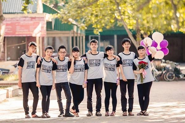 áo thun đồng phục lớp Huyện Bình Chánh